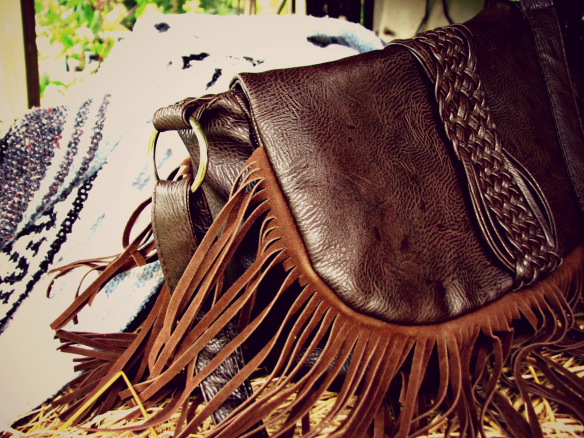 {ThisGreenEyedGirl} Fringed bag